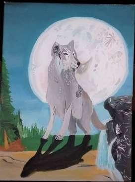 Pintura en lienzo