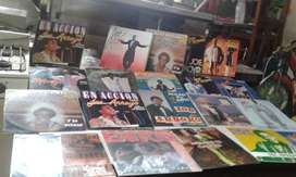 colección de discos del Joe Arroyo