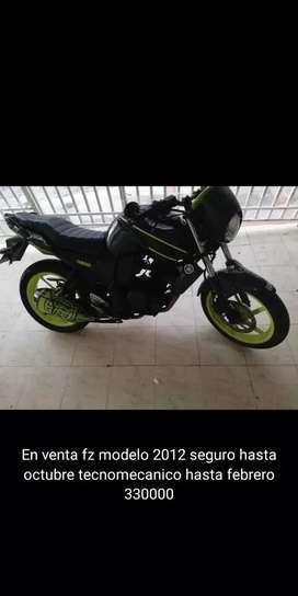 Yamaha fz buen precio 330000