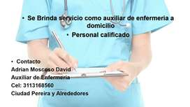 SERVICIO DE AUXILIAR DE ENFERMERIA