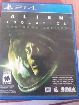 Vendo Alien Insolation.