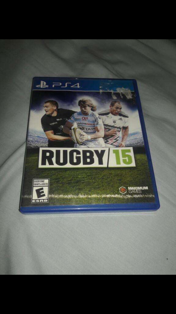 Rugby 15 Playstation 4 0