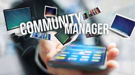 Community manager personal
