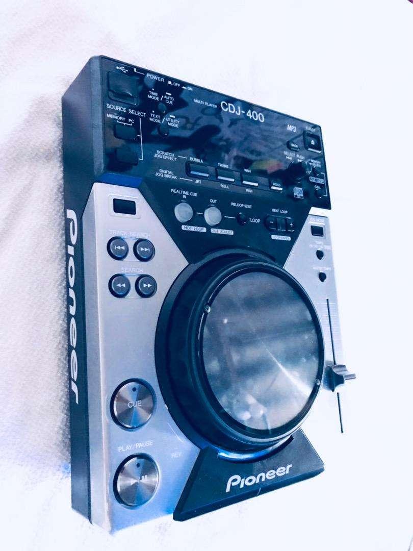 CDJ-400 PIONEER COMO NUEVA 9 10