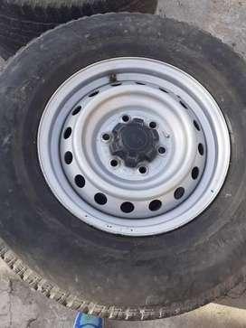 Vendo ruedas armadas