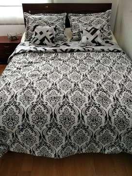 Cubrelecho cama doble