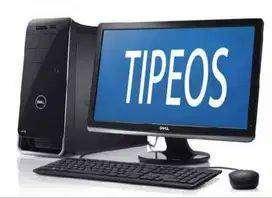 COPIAS Y TIPEOS