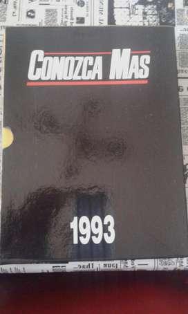Colección De La Revista Conozca Mas Año 1993 En Estuche