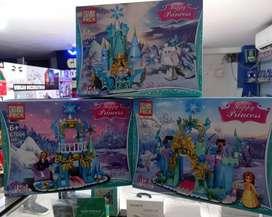 Lego o bloque armable de 168 piezas de Happy Princess