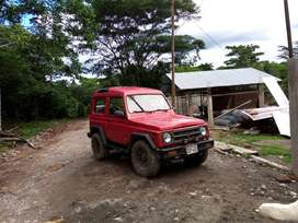 camioneta Suzuki samurái año 94