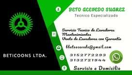 Servicio Tecnico de Lavadoras y Neveras
