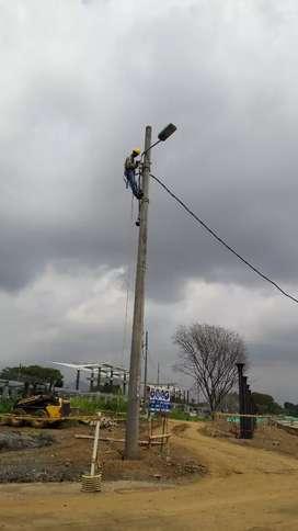 Técnico electricista con certificación en alturas todo tipo de instalaciones y daños eléctricos