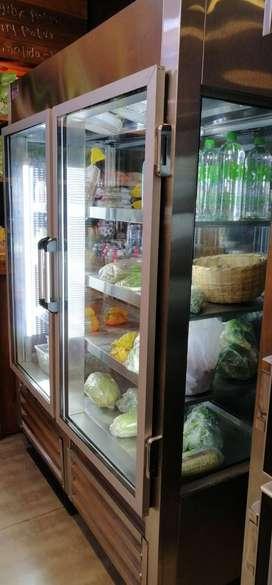 vendo vitrina refrigerador 2 puertas