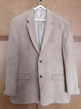Saco de Vestir de Gamuza Van Heusten Talle L