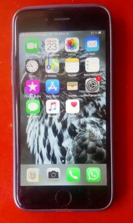 Vendo o cambio por samsumg teléfono iphone 6 con memorio de 32 gb