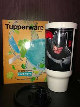 Practivaso Batman Y Superman Marca Tupperware