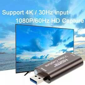 Capturadora 3.0 vídeo 60fps