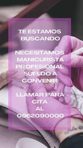 Contrato Manicurista profesional