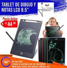 """Tablet para dibujos y notas LCD 8.5"""" pulgadas - Pizarra mágica"""