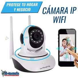 Cámara IP WiFi monitorea tu hogar o negocio desde tu celular