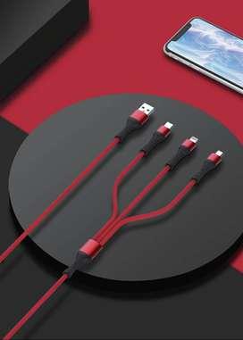 LDNIO Data Cable LC94 Pulpo 3 en 1