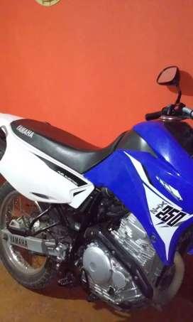 Yamaha xtz 250 mod 2015como nueva