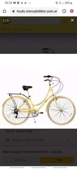 Bicicleta de paseo mujer
