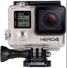 Gopro Hero 4 Black Cámara Foto Video Deportiva + Accesorios