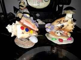 Decorativos en conchas de mar