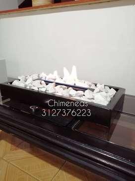 modulo bioetanol chimenea para mesas de centro