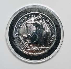 Moneda de Plata 1 oz Britannia 2020