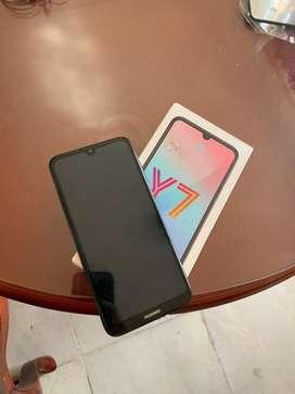 Vendo Huawei Y7 2019 en buen estado libre de operador para hoy