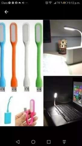 Luces LED para laptop MacBook cargador , cargador portátil power bank