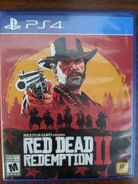 Vendo Red Dead Redemption 2 en excelentes condiciones