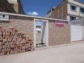 Venta de lote de terreno en la Urbanización Nuevo Hogar en Ibarra