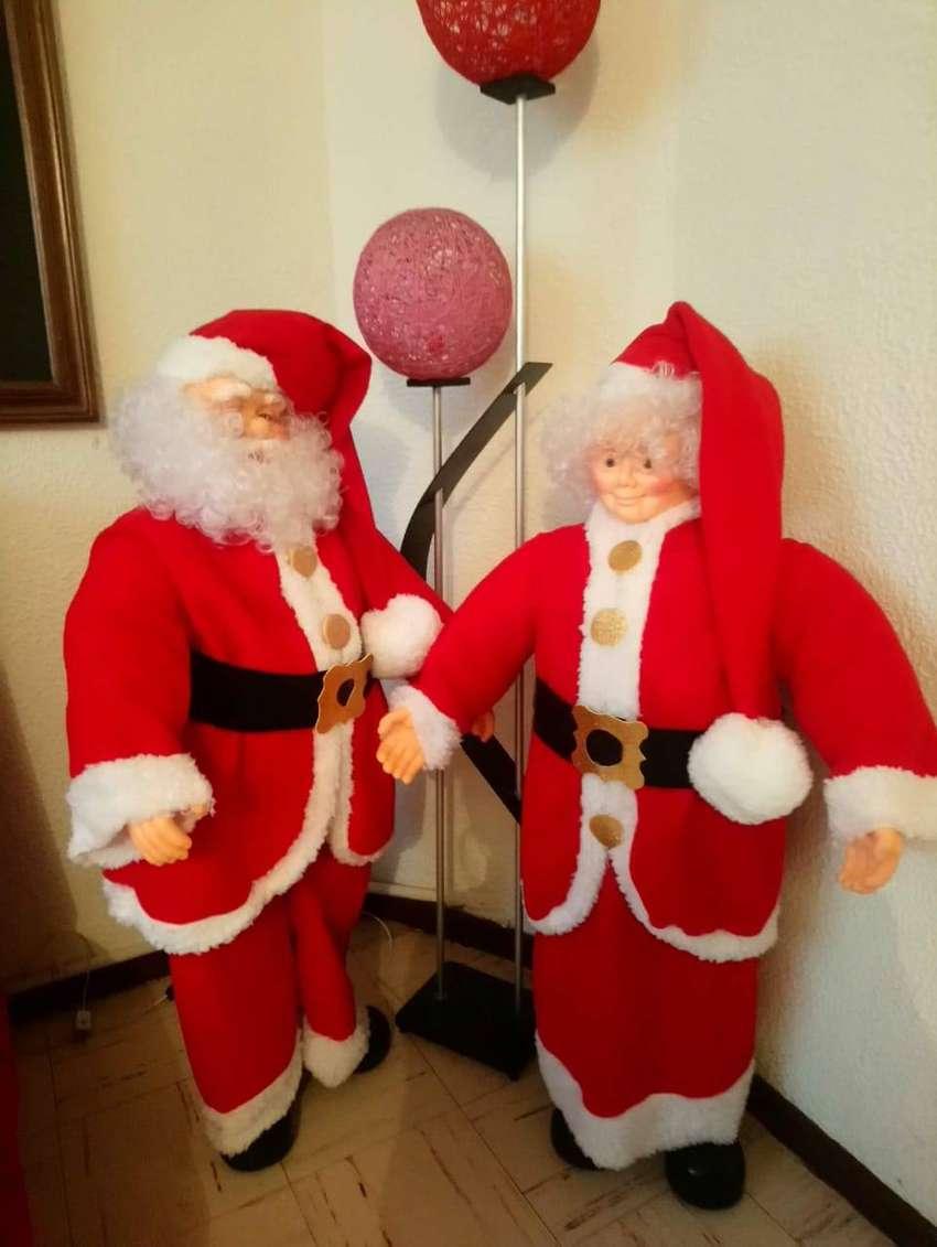 Hermosos Papas Noel 0