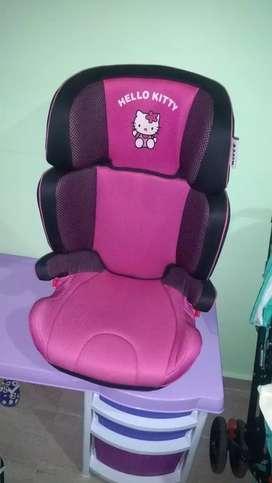 Hermosa silla para carro