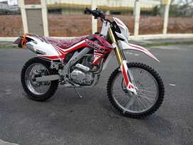 MOTO NUEVA RANGER TTK 250 CC REFORZADA