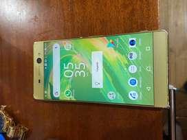 Sony xa1 ultra color dorado
