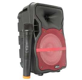 Cabina Parlante Bluetooth Portátil Recargable 6.5 pulgadas