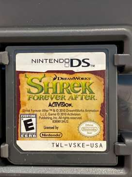 Juego Nintendo Ds Sherek Forever After