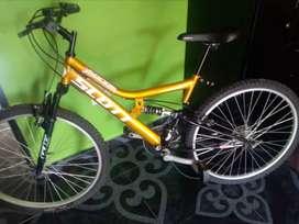 Vendo bicicleta todo terreno nueva