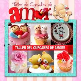 Clases de Cupcakes de Amor