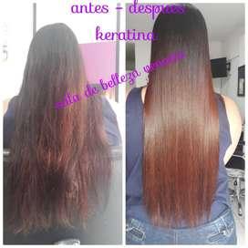 Keratinas garantizadas y color en tu cabello