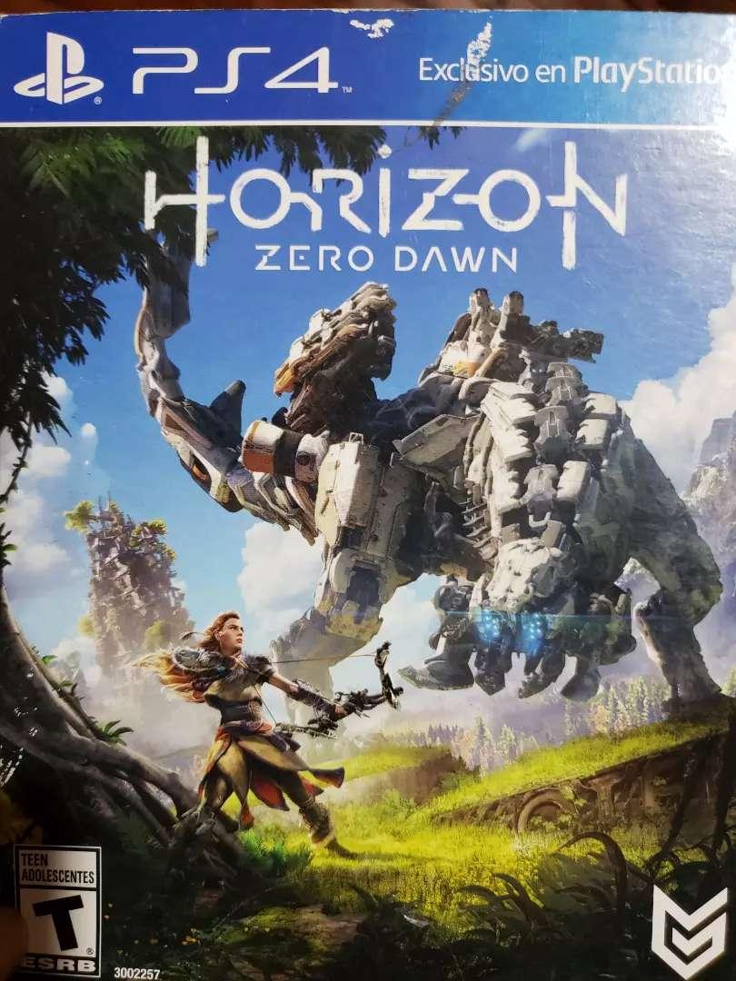 Juego horizon zero dawn 0