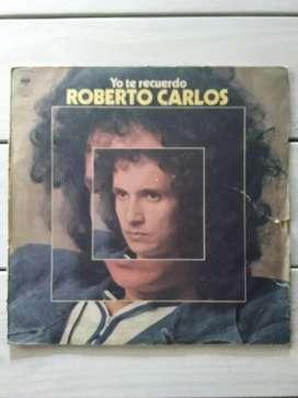 Lp Vinilo Roberto Carlos Yo Te Recuerdo ( Ver Descuentos)