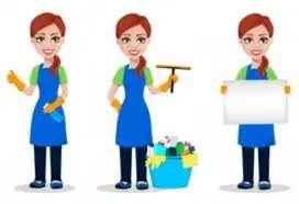 Servicios de niñera y de limpieza Colombiana