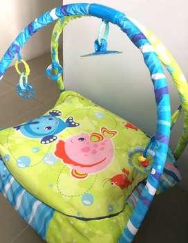 Gimnasio Para Bebes (niño O Niña) Diseño Con Peces