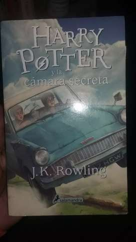 Libro de Harry Potter.