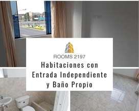 Alquiler de habitación en San Miguel a 430 soles persona sola, parejas 500 soles.